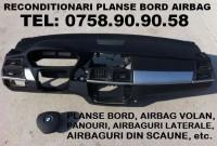 Reconditionari planse bord cu airbag sarit si airbag volan